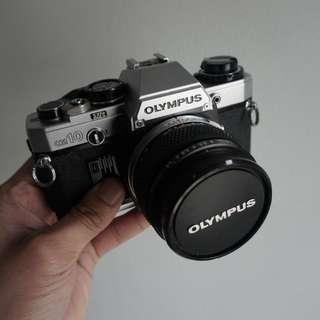 Olympus OM-10 zuiko 50 1.4 mc auto-s