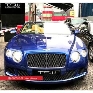 Bentley Continental GT Convertible 6.0A Speed