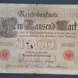 Antique German Currency