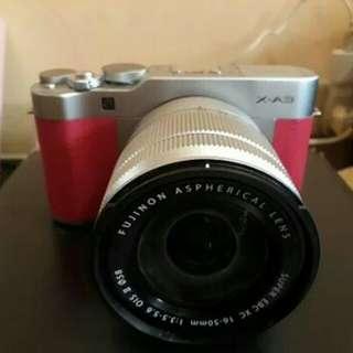 Camera FS: Fujifilm XA3 + Kit 16-50 Fullset