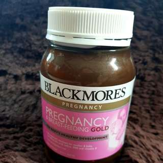 GRATIS !!!! Blackmores pregnancy and breadst feeding gold