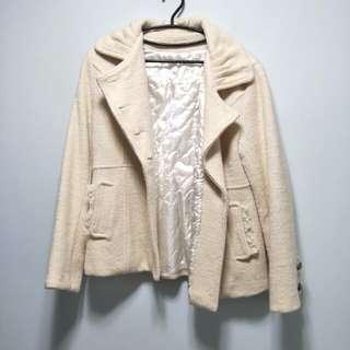 🚚 降價💰米白淑女外套