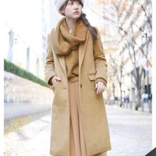 🚚 LOWRYS Farm lF保暖羊毛西裝外套 大衣