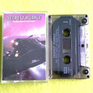 DEEP PURPLE. the very best of. Cassette tape not vinyl record
