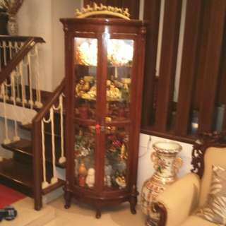 RUSH SALE!!! Furniture Wooden Curio display cabinet