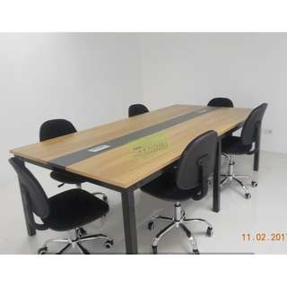 KHOMI--CT-4701 CONFERENCE TABLE 8 SEATER