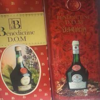 Benedictine D.O.M-  3 bottles