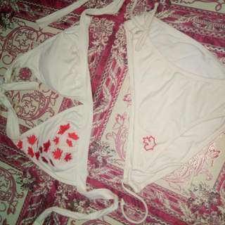 Preloved White Swimwear