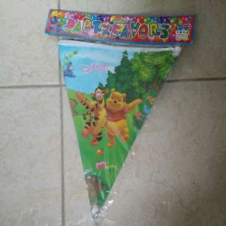 Winnie the Pooh Party Flyer