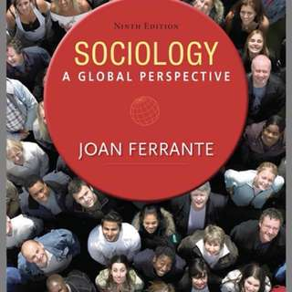 Sociology: A Global Perspective (9th edition)