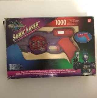 Sanban's Beetle Borgs Sonic Laser