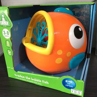Frankie the bubble fish