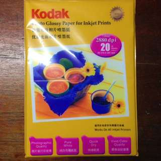 KODAK PHOTO GLOSSY PAPER