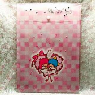 Sanrio 2003 絕版罕有 Little Twin Stars File