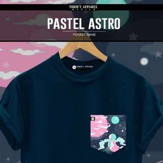Pastel Astro Pocket Tees