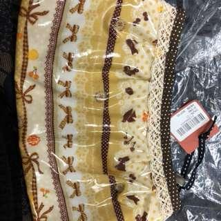 日本 Ans 袋 可作筆袋或化妝袋