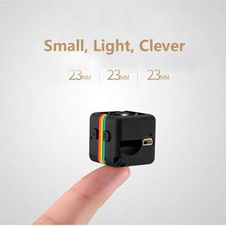 SQ11 HD 1080P Mini Hidden Spy Camera with Night Vision and Motion Detection