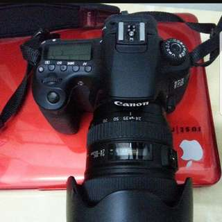 Canon 60D with 24-105L lense