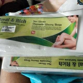Waxing strips Big size