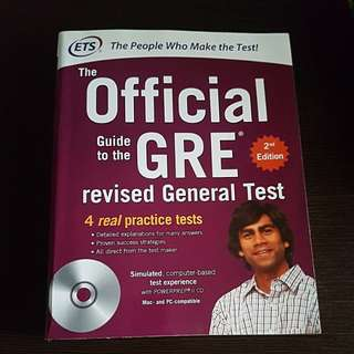 GRE ETS official guide for the revised General Test