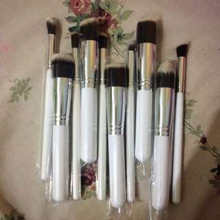 10 Make Up Brushes