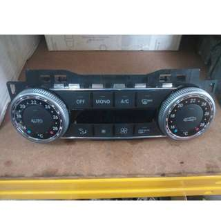 MERCEDES BENZ W204 AIRCOND SWITCH