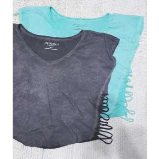 Aeropostale Crop Top Blouse