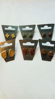 北欧INS风小众品牌 朝圣者pilgrim.Authentic Danish design jewellery earings, imported from Denmark丹麦耳环/耳坠/耳钉