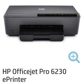 100%全新未開 HP Officejet Pro 6230 ePrinter