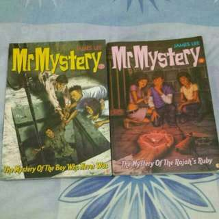 [INSTOCKS] Mr Mystery Book #3 And #7