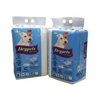 Janp Drypets Pee Pads Small (50 pcs) / Medium (35 pcs) / Large (25 pcs)