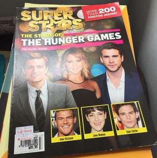 The Hunger Games stars magazine