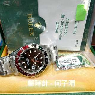 Rolex 16710 可樂 原裝 行貨888 全套齊 93%新 密孔