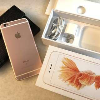 iPhone 6s 64g 9成新 玫瑰金