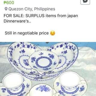 Surplus Dinnerwares