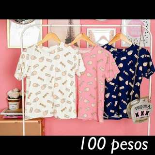 Tops for 100 pesos only