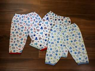 Authentic Baby Essentials Pajamas: 3pcs for the cute little ones