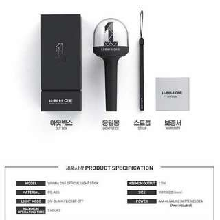 Wanna One Official Lightstick [Pre Order]