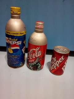可口可樂11瓶鋁罐 全