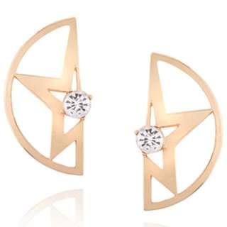 Anting Korea minimalist Diamond star Earrings