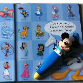 徵: 迪士尼美語世界點讀筆 (只要正常能用的) (新品/二手均可)