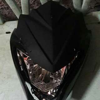Suzuki Raider R150 Reborn headlught