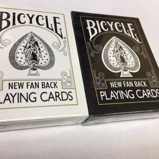 Bicycle New Fan Back Playing Cards