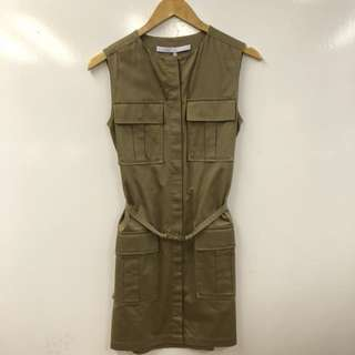 Victoria Beckham vest dress with four pockets size F36
