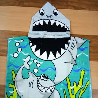 Cute Shark Towel for Kids and Toddlers