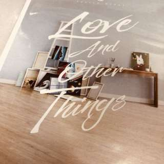 衛蘭 Love and other things 新碟 全新