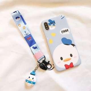 I Phone X 唐老鴨電話殼
