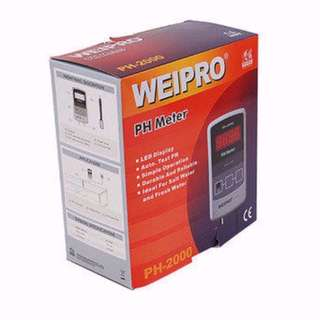 Weipro PH-2000 PH Meter with Probe for Aquarium Fish Tank
