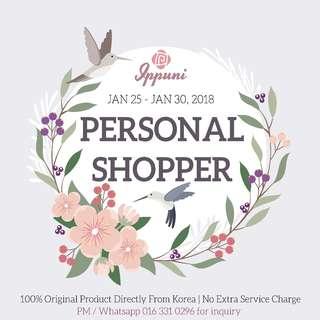 ! PERSONAL SHOPPER EVENT !