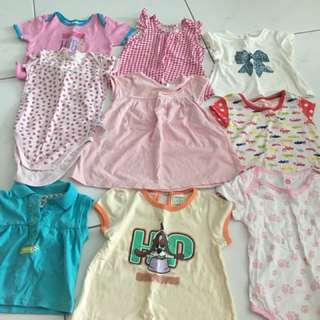 Baby Girl clothes for 6-12 month